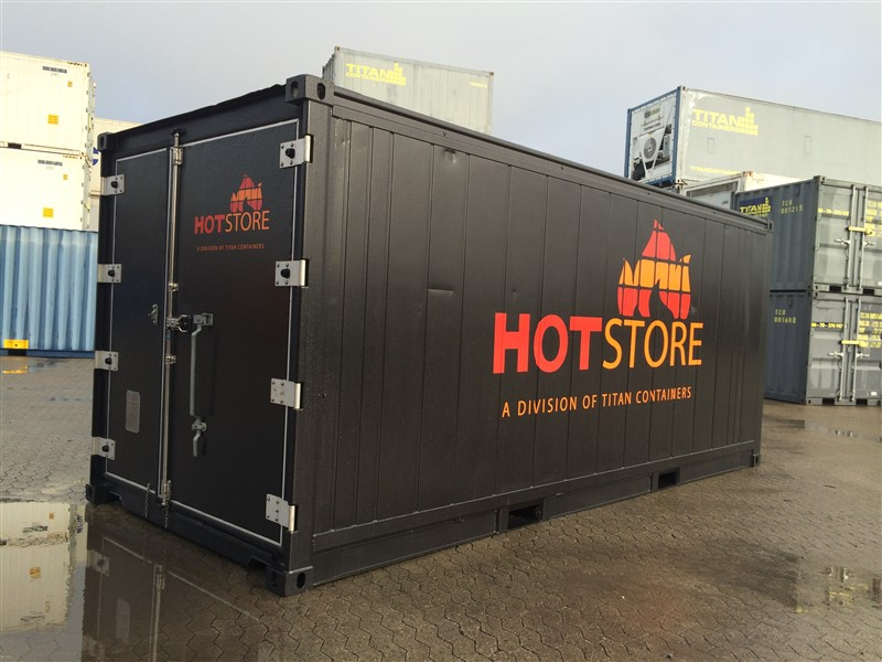 HotStores are refrigerated containers with heating rather than cooling temperature control