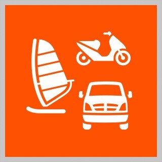 STORE LARGE ITEMSIncluding motorcycles and cars