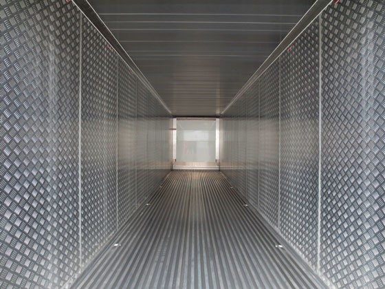Alternative internal panels to withstand vacuun effect