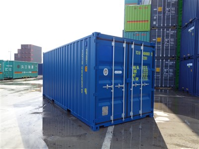 20' standard - high cube - tunnel containers