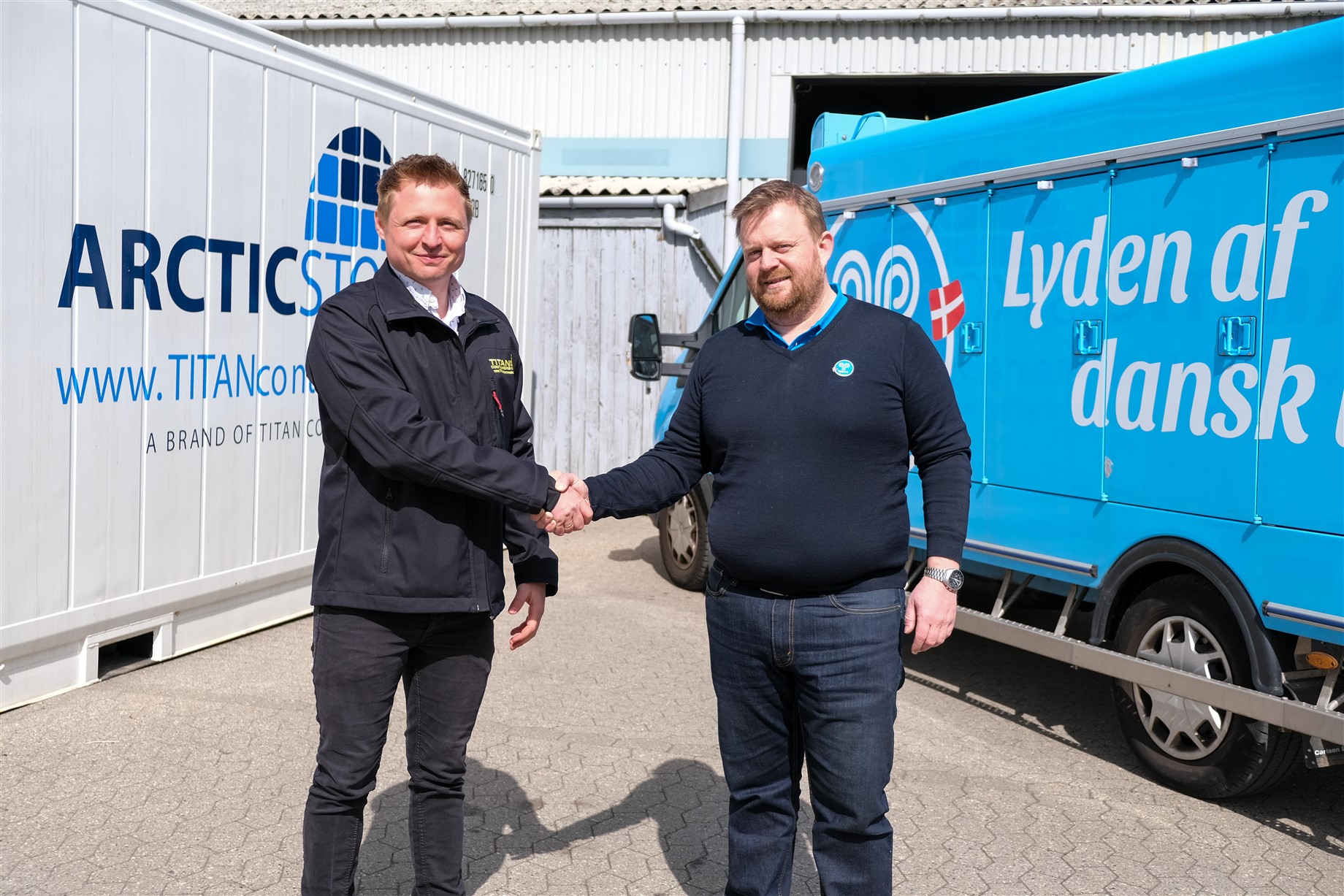 TITAN Containers & Hjem-Is Samarbejde