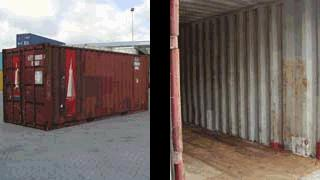 Grade C used container