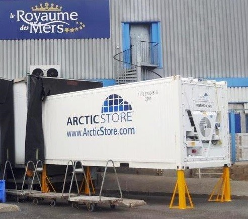 "<h3 style=""text-align: center;""><strong>It is common that we place ArcticStores and other types against loading bays.</strong></h3>"