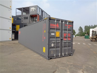 40' high cube - tunnel containers