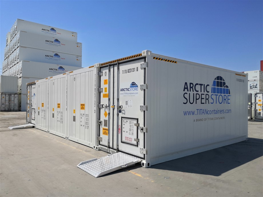 65m² 20' High Cube SuperStore