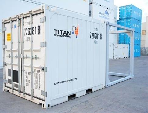 <h3>3m DNV reefer with frame for shipping</h3>