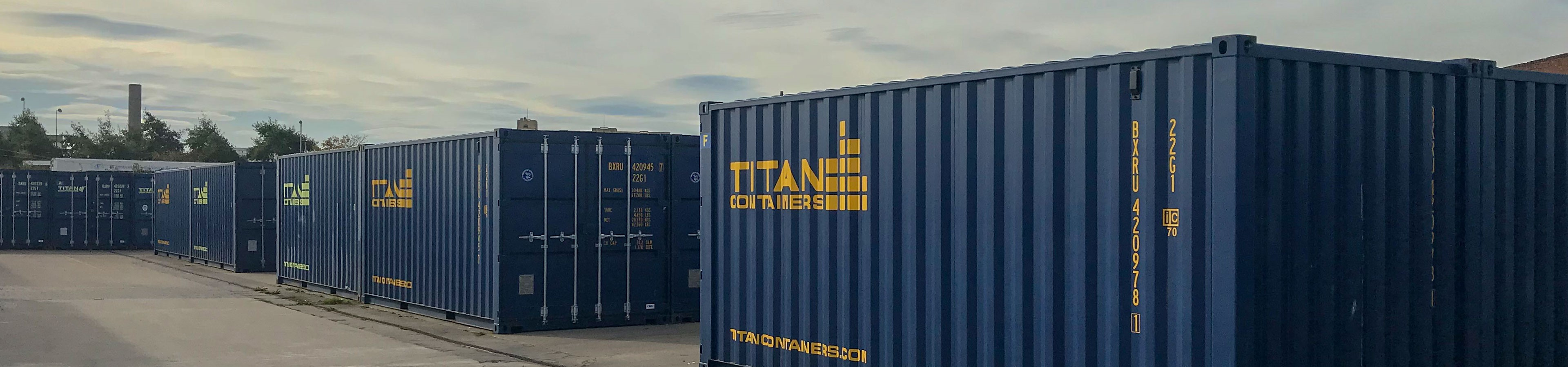 Titan Containers Avonmouth Self Storage 24 7 Access