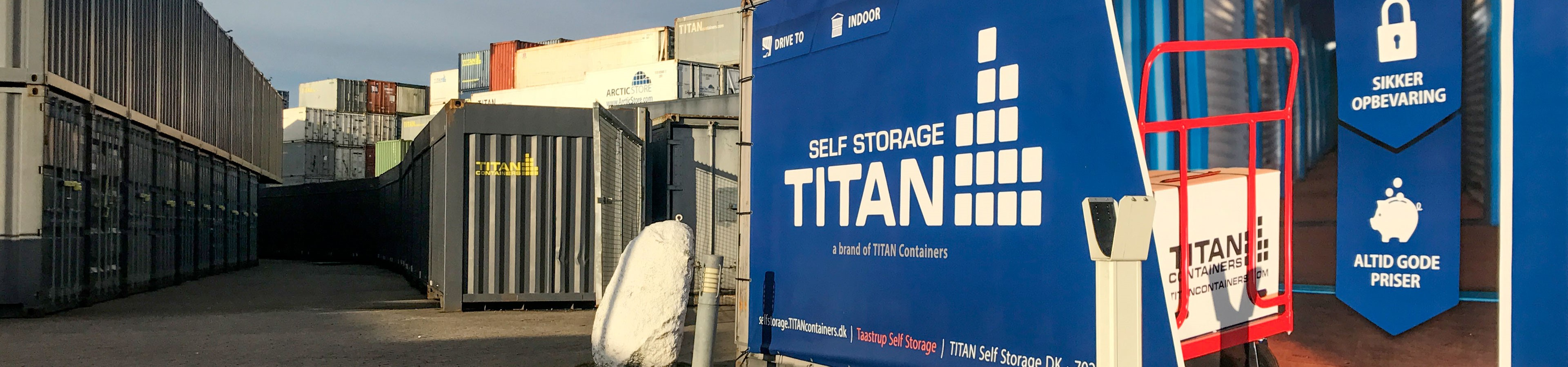 Picture of: Self Storage Hos Titan Herning