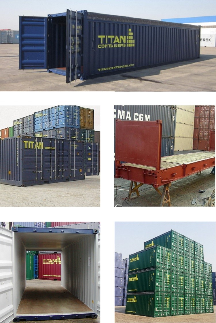 New, refurbished and used special ISO CSC plated shipping containers  including: