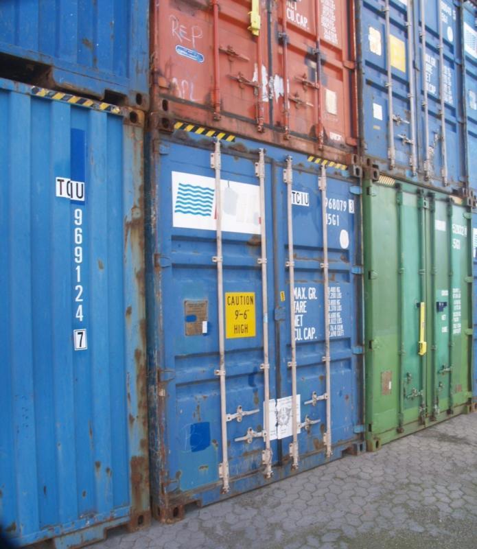 gebrauchte container in Deutschland