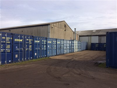 </I>Outdoor storage in Caxton